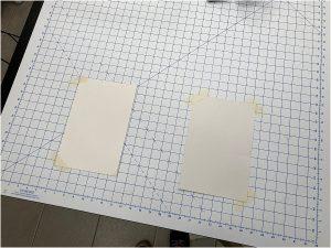organize your fabric comic board
