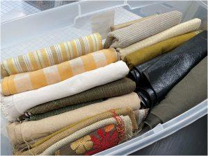 organize your fabric big bin